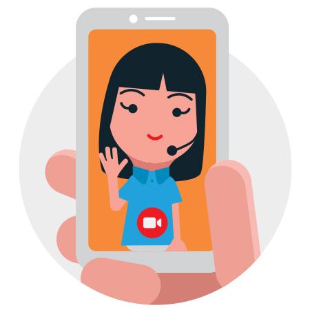 aktivasi video call