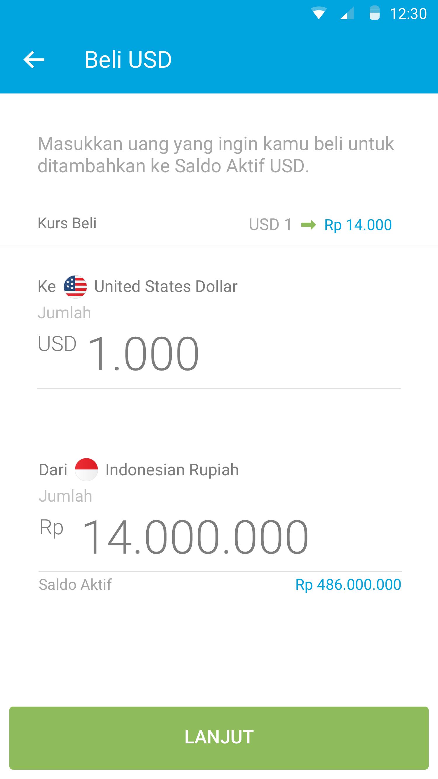 jual beli uang asing