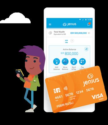 <p>Mudah kelola keuangan<br /> dari <em>smartphone</em></p>