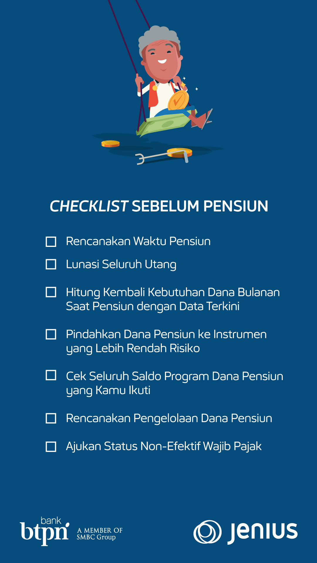 Financial Checklist 40 Tahunan